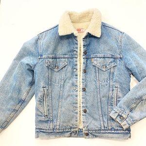 Vintage Sherpa Levi's jacket